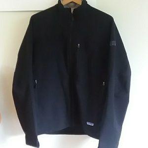 Patagonia Samuel Adams black zip up.